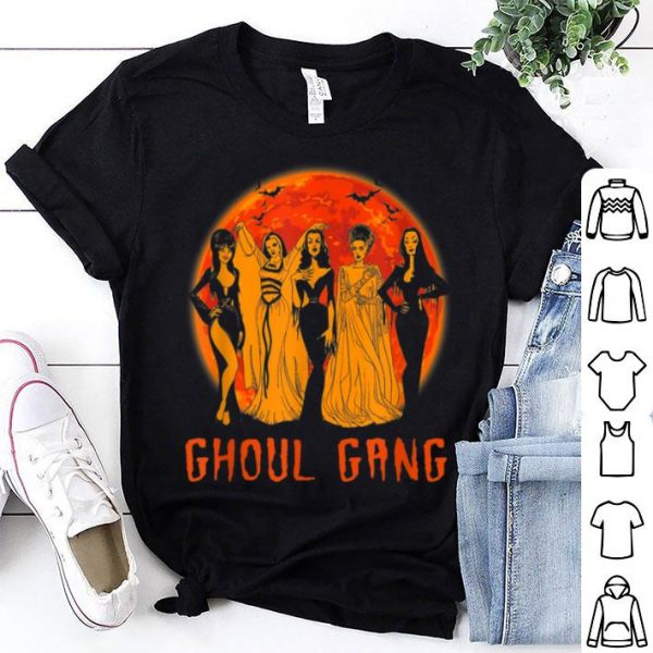 Awesome Ghoul-Gang funny feminist Halloween shirt