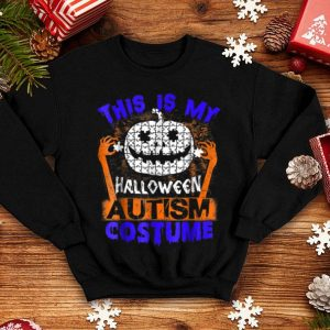 Awesome Halloween Autism Costume shirt