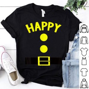 Awesome Happy Dwarf Halloween Costume Funny Gift Idea Happy Dwarf shirt