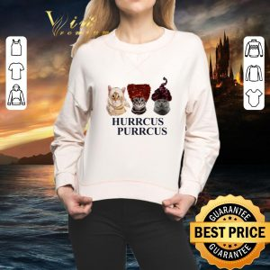 Awesome Hurrcus Purrcus cats Hocus Pocus shirt