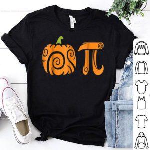 Awesome Pumpkin Pi Funny Halloween Pie Math Lover Algebra shirt