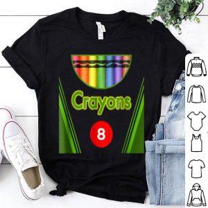 Beautiful Crayon Box of 8 Costume Halloween shirt