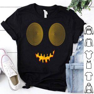Beautiful Halloween unique,funny,cool pumpkin swirl vortex eyes shirt