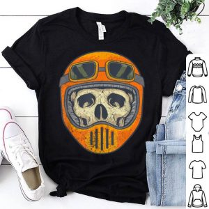 Beautiful Skelton Halloween Costume Dirt Bike Boys Men Mens Kids Youth shirt
