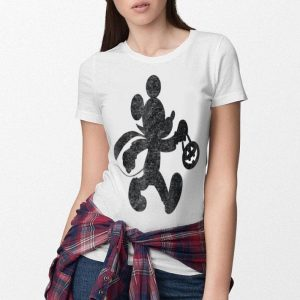Funny Disney Mickey Halloween ready for candy T -shirt shirt