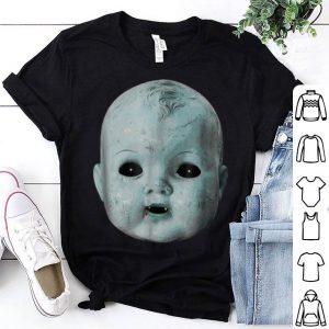 Funny Scary Doll Head Creepy Halloween Vampire Baby Costume shirt