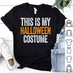 Funny Vintage This Is My Halloween Costume Apparel, Funny Retro shirt