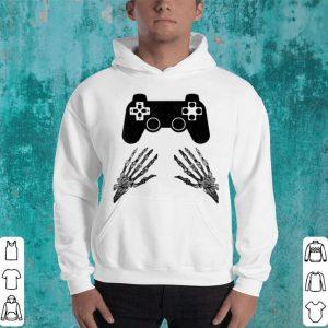 Halloween Funny Skeleton Video Gamer Costume Boys Teens Men shirt