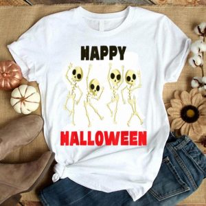 Happy Halloween Skeleton Fun shirt