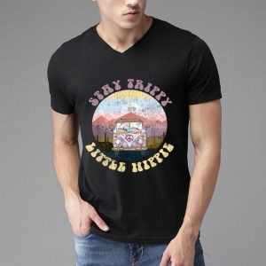 Hippie Van Stay Trippy Little Hippie Peace And Love shirt