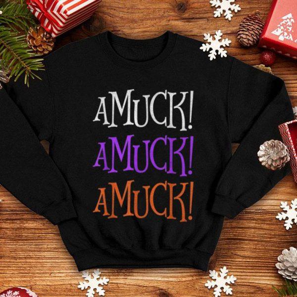 Hot Amuck Amuck Amuck Halloween Cute Funny shirt