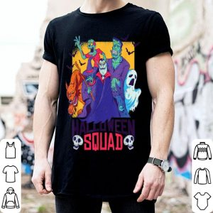 Hot Halloween Squad Spooky Scary Ghosts shirt