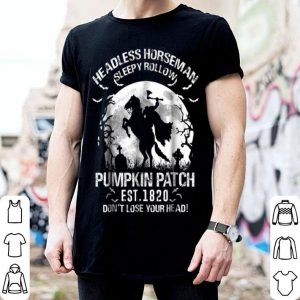 Hot Headless Horseman Halloween Pumpkin Ale 2018 shirt