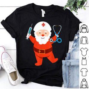 Hot Nurse Santa Funny Christmas Nursing Pajama Xmas Holiday Gift shirt
