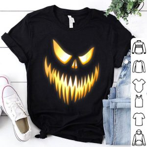 Hot Scary pumpkin Halloween shirt