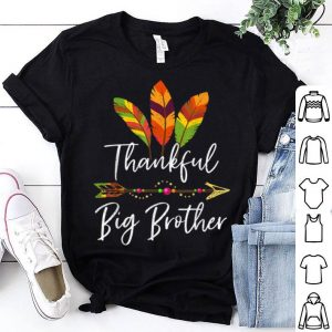 Hot Thankful Big Brother Feather & Arrow Thanksgiving Gift shirt