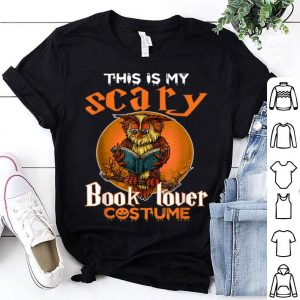 Hot This Is My Scary Book Lover Halloween Costume For Men Women shirt
