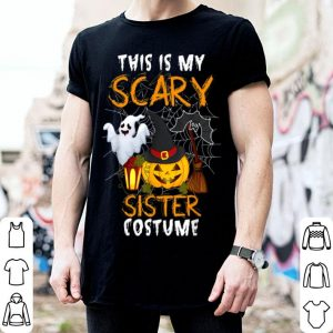 Hot This Is My Scary Sister Halloween Costume shirt
