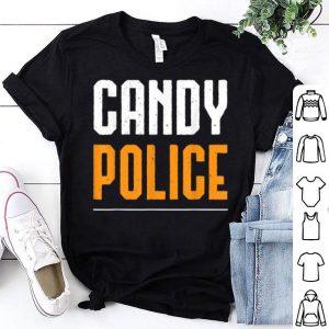 Nice Candy Police Halloween Costume Mom & Dad shirt