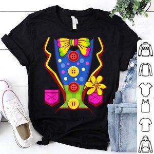 Nice Clown Costume for Kids Men Women- Halloween Outfit - Circus shirt