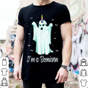 Nice I'm a Boonicorn Cute Halloween Gift,Funny Ghost Unicorn shirt