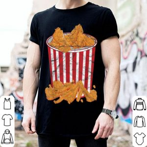 Official Fried Chicken Bucket Funny Halloween Costume shirt