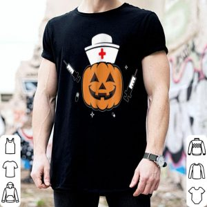 Official Halloween Nurse Scary Pumpkin Hospital Night Party shirt