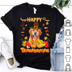 Official Happy Thanksgiving Golden Retriever Dog I'm Thankful For My shirt