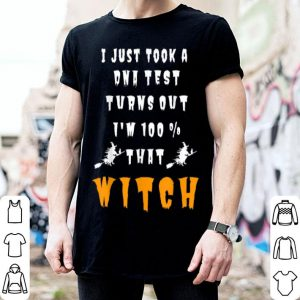 Official I'm 100 Percent With That Witch Halloween Funny shirt