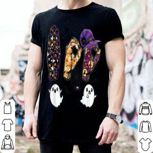 Original Boo Ghost ASL American Sign Language Funny Halloween Costume shirt