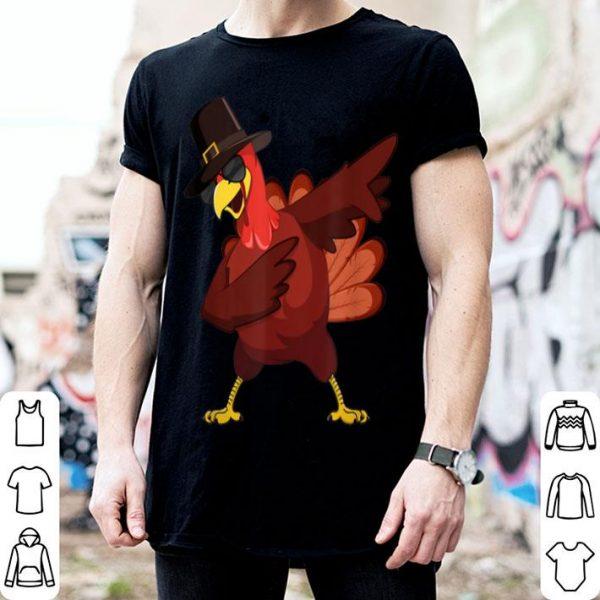 Original Cute Dabbing Turkey Thanksgiving Gift For Men Women Kid shirt