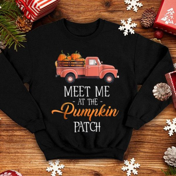 Original Halloween Costume - Meet Me At The Pumpkin Patch shirt