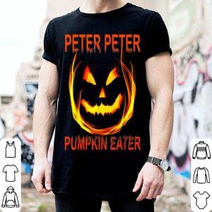 Original Peter Peter Pumpkin Eater Couples Halloween Costume shirt