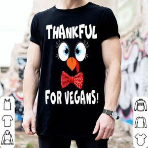 Original Turkey Face Lives Matter Thanksgiving Thankful For Vegan shirt
