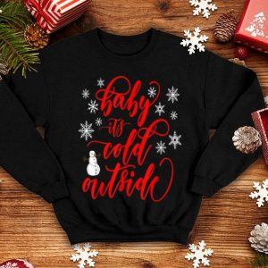 Premium Cool Funny Baby its Cold Outside Christmas Sweater Jumper shirt