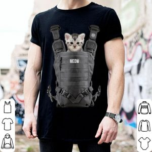 Premium Halloween Cat Cool kitty cats Carrier funny gift tee shirt