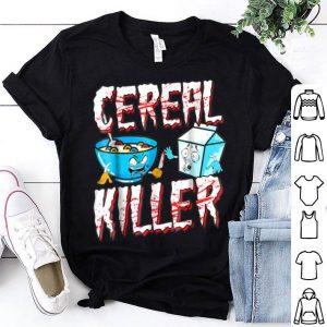 Premium Halloween Costume Cereal Killer shirt