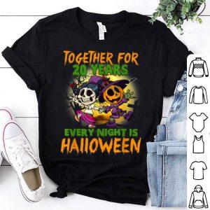 Premium Halloween Costume For Couple. 20th Anniversary shirt
