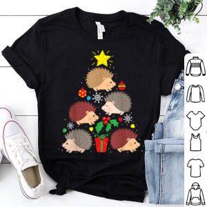 Premium Hedgehog Christmas Tree Ornament Decor Gift Cute shirt