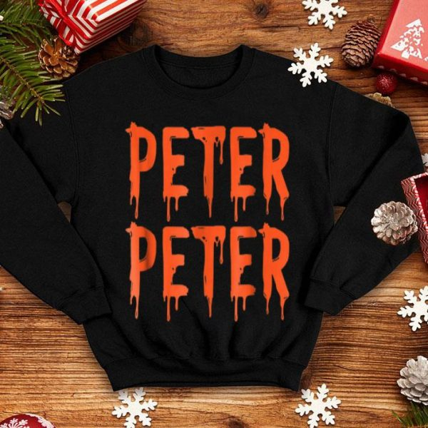 Premium Peter Peter Pumpkin Eater Couples Halloween Costume shirt