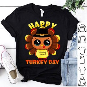 Pretty Happy Turkey Day Thanksgiving Cute Family Gift tee Men Women shirt