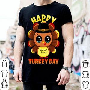 Pretty Happy Turkey Day Thanksgiving Cute Family Gift tee Men Women shirt