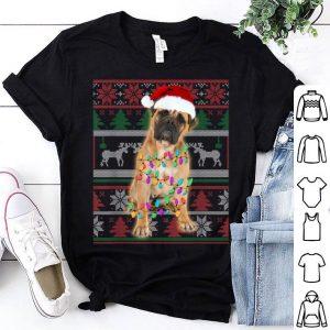 Top BullMastiff Ugly Sweater Christmas Gift shirt
