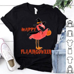 Top Flamingoween Flamingo Mummy Halloween Costume pumpkin shirt
