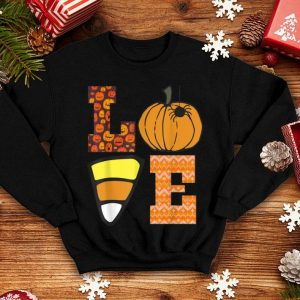 Top I Love Candy Funny Candy Corn Halloween Gift shirt