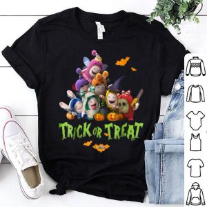 Top Oddbods Halloween Trick or Treat Cool Graphic Tees shirt