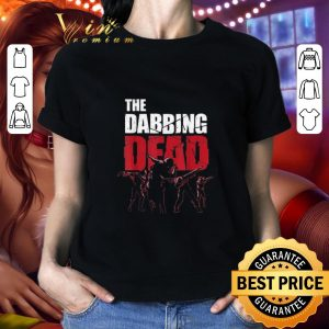 Top The Dabbing Dead Zombie Walking Dab shirt
