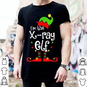 Awesome I'm The X-ray Tech ELF Christmas Xmas Funny Matching Squad shirt