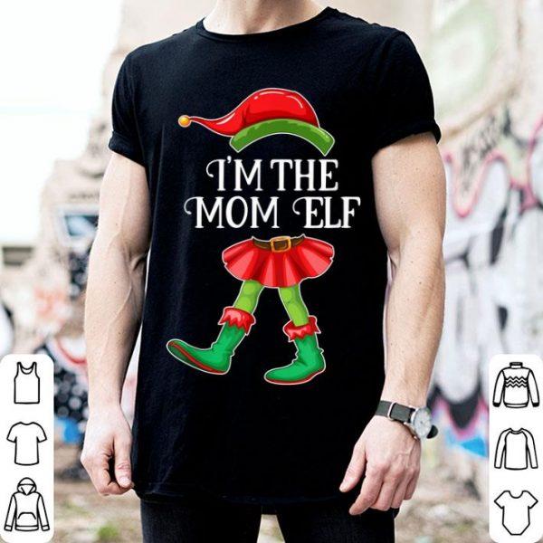 Awesome I'm the Mom Elf Matching Family Pajamas Christmas Mama Gift sweater