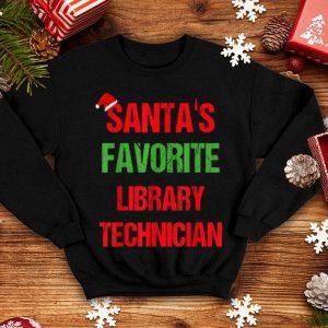 Awesome Library Technician Funny Pajama Christmas Gift shirt